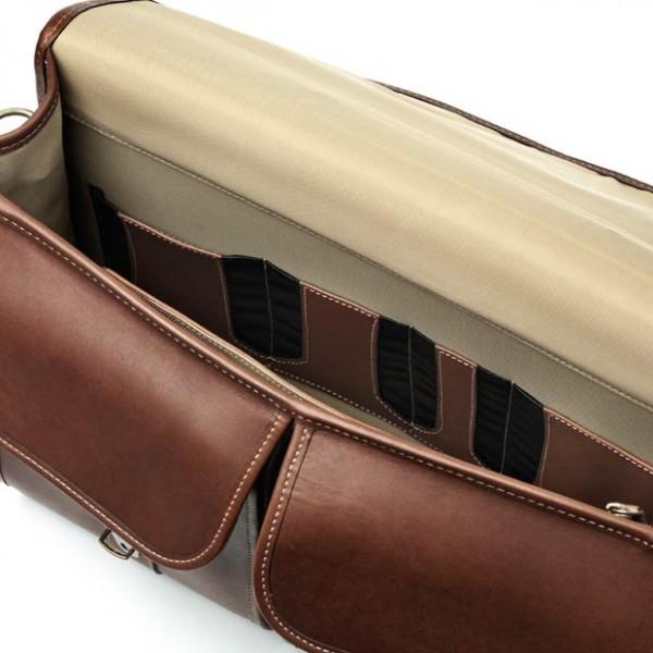 double flap briefcase by allen edmonds 98690a unique feet
