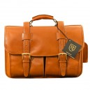 Strand Double Flap Briefcase by AE (98690A)