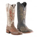 Black Lizard Leather by Lucchese